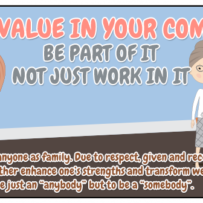 have value in your company